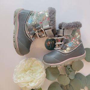 See Kai Run Abby II waterproof/ insulated winter boots toddler  girls size 4 NEW